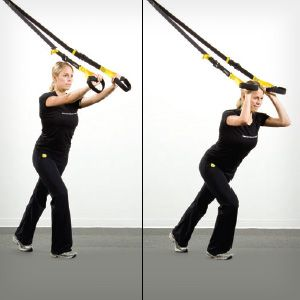TRX Total-Body Workout: Print this suspension-training workout to strengthen your core–and every other part of your body.