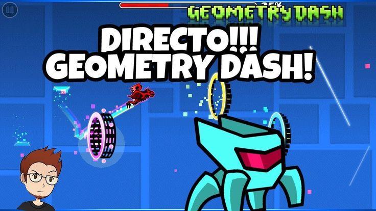JUGANDO NIVELES DE SUBS EN DIRECTO!!! GEOMETRY DASH 2.11!!! 5K SUBS?!