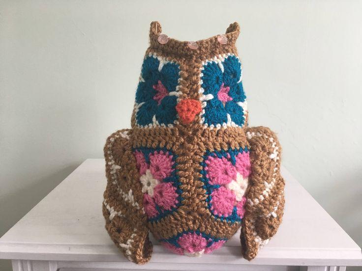 Fat Little Owl by AliceRoseHandmade on Etsy https://www.etsy.com/ie/listing/533820180/fat-little-owl