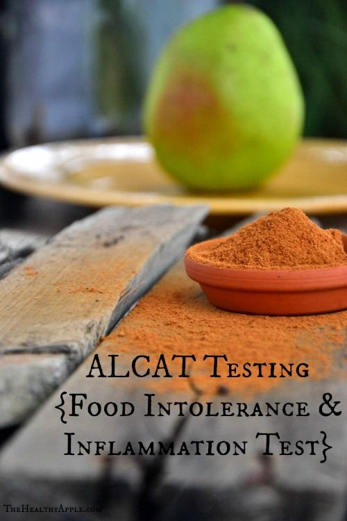 ALCAT Testing {Food Intolerance and Inflammation Test}