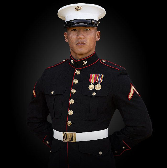 Enlisted Marine Dress Blues