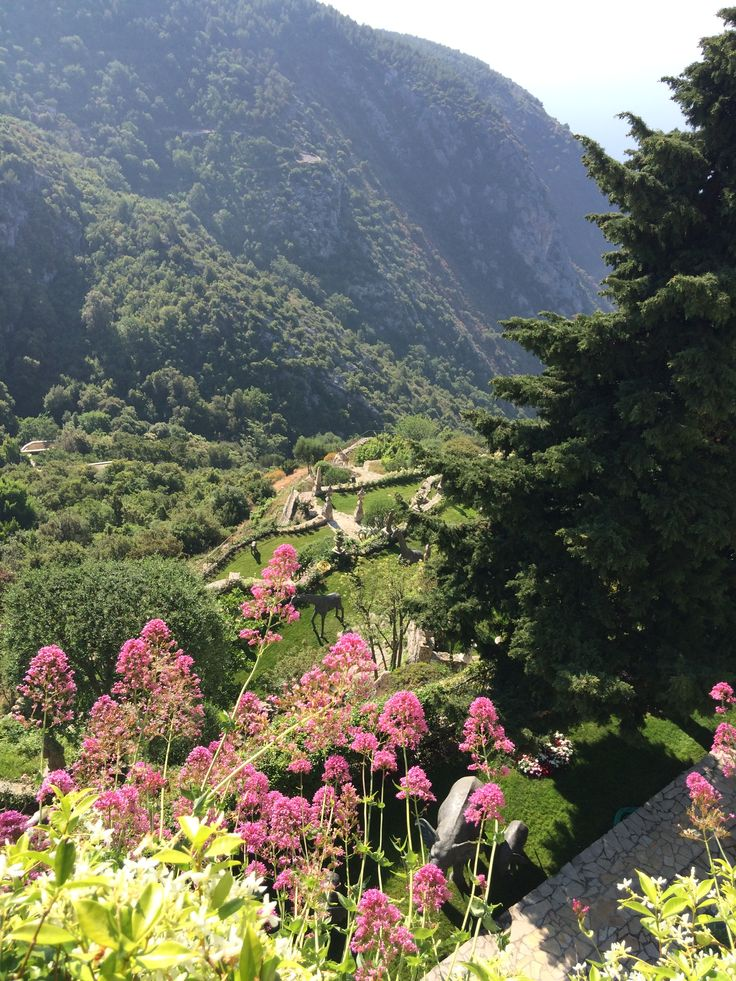 A view from Eze Village