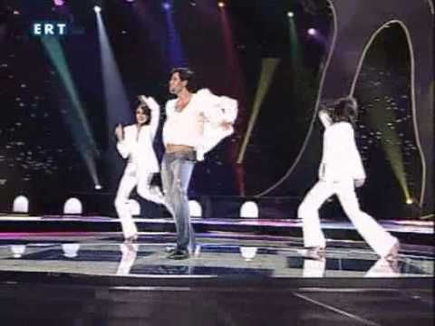 Σάκης Ρουβάς - Shake it (Eurovision 2004)-Sakis Rouvas - YouTube