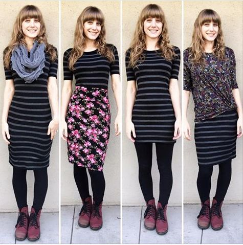 4 ways to wear the LuLaRoe Julia
