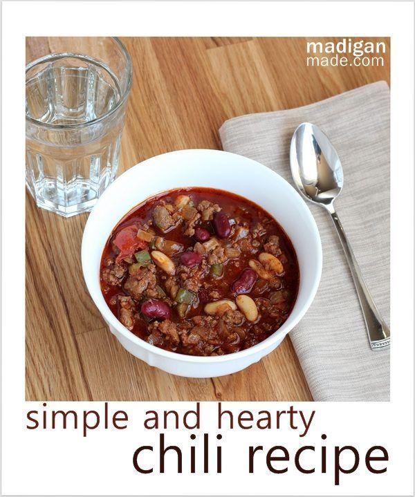 ... Chili Recipes on Pinterest | Chili recipes, Easy homemade chili and