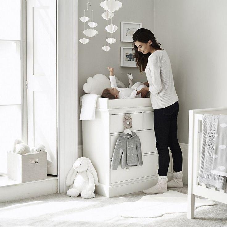 Babyzimmer in Grau und Weiß – Schöne Ideen und Tipps für eine geschlechtsneutrale Raumgestaltung