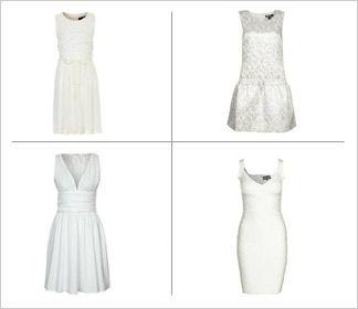 Białe sukienki // nowy trend lato 2013 White dresses