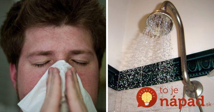 Lezie na vás choroba, kašlete a máte plný nos? Stačí si do sprchy vložiť TOTO a môžete zabudnúť na tabletky z lekárne!