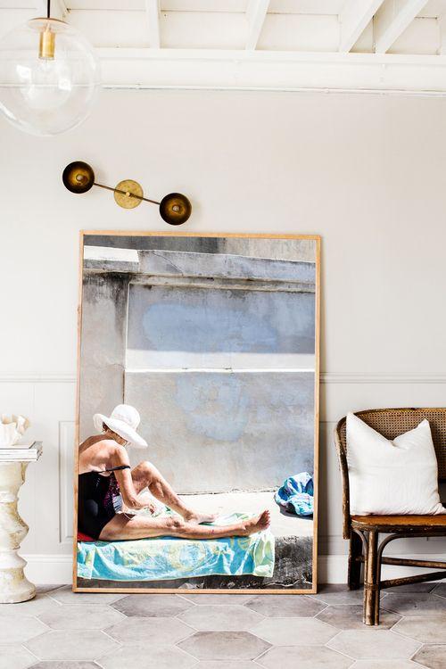 sydney sunbather photographic prints