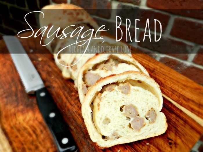 Best 25 Sausage Bread Ideas On Pinterest Recipes With