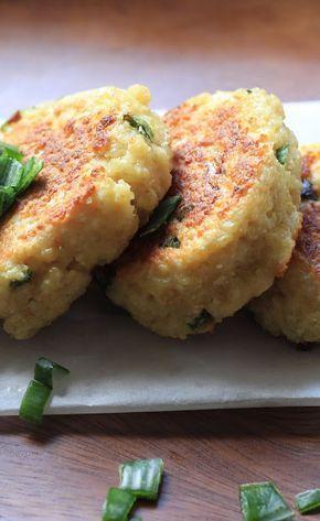 Croquettes de quinoa au chèvre frais   Ondinecheznanou.blogspot.com