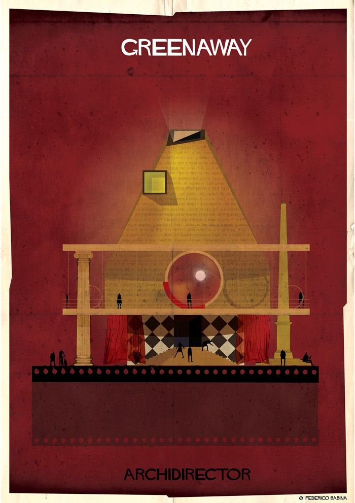 Gallery - ARCHIDIRECTOR: A Fantastical City Inspired by Famous Directors by Federico Babina - 10