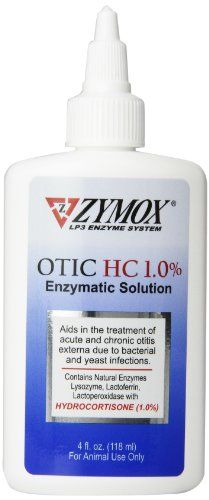 Pet King Brand Zymox Otic Enzymatic Solution for Pet Ears, 4 Ounces >>> Find out more at the image link. #CatHealthSupplies