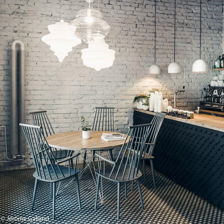 Les 25 meilleures id es concernant murs de briques for Maison en brique blanche