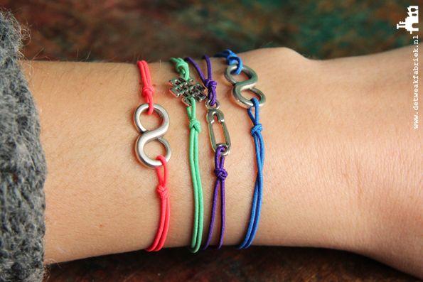 De Tweakfabriek DIY armbandjes maken? Maak zelf deze DIY armbandjes van elastiek