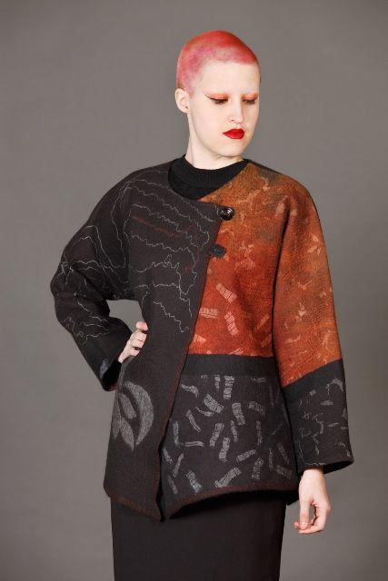 Jackets - Felt - Textile - Fashion - Art
