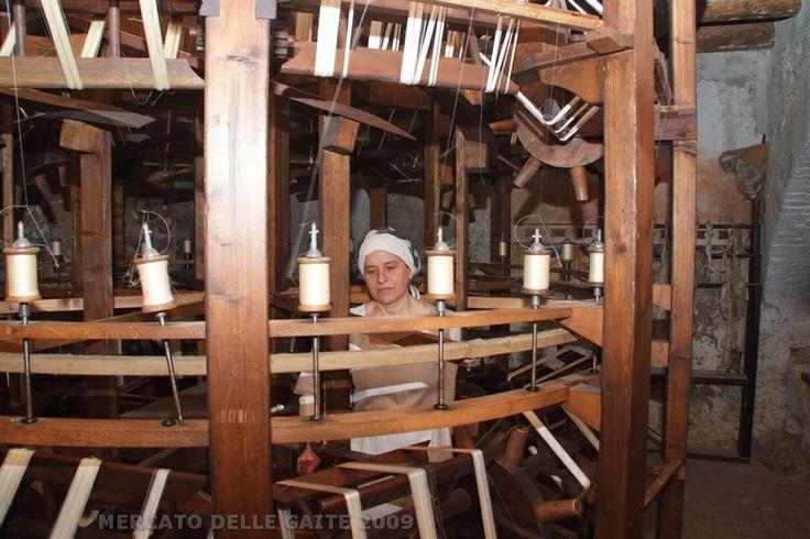 Il torcitorio medievale della seta - Gaita Santa Maria