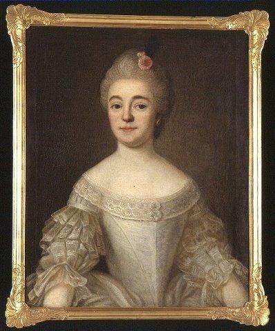 Ester Sophia Nohrström n. Munsterhjelm, 1769, by Per Fjellström.