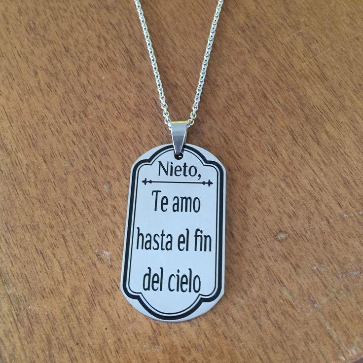 Spanish Grandson - Nieto, Te amo hast el fin del cielo