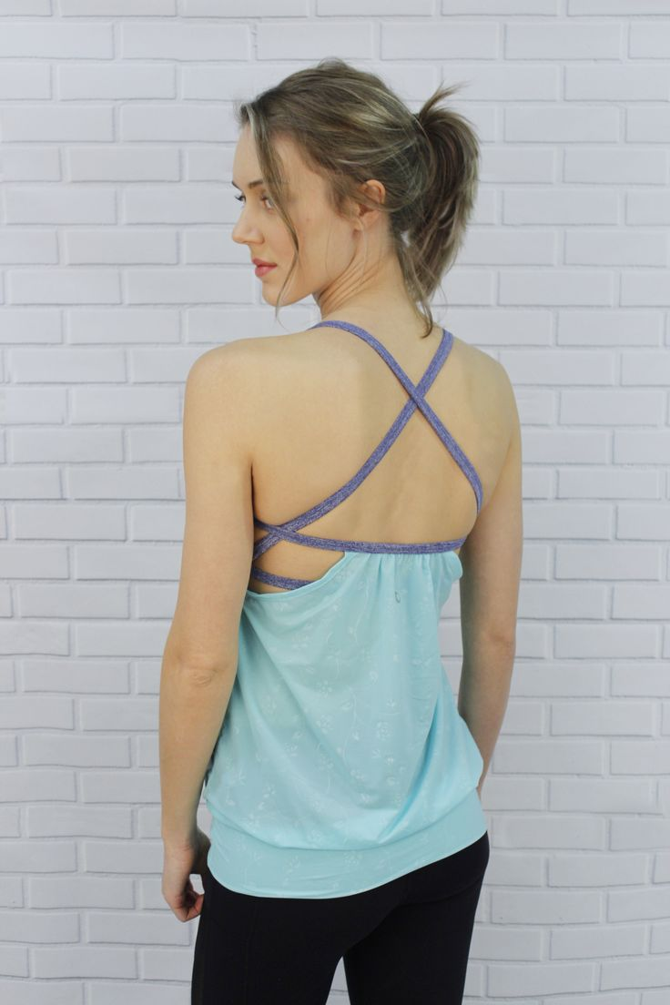 J76 Athletic Wear exclusive - Tank with strappy bra - Ariana top