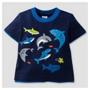 • 60% cotton / 40% polyester jersey for softness and comfort<br>• Winner of the Parent Tested Parent Approved™ Seal<br>• Easy-to-dress pullover neck design<br>• Tag-free label <br>• Designed for kids to dress themselves<br>• No buttons or zippers <br>• Short sleeve design to keep him cool<br>• Colors stay bright longer with less shrinkage<br>• Cool Sha...
