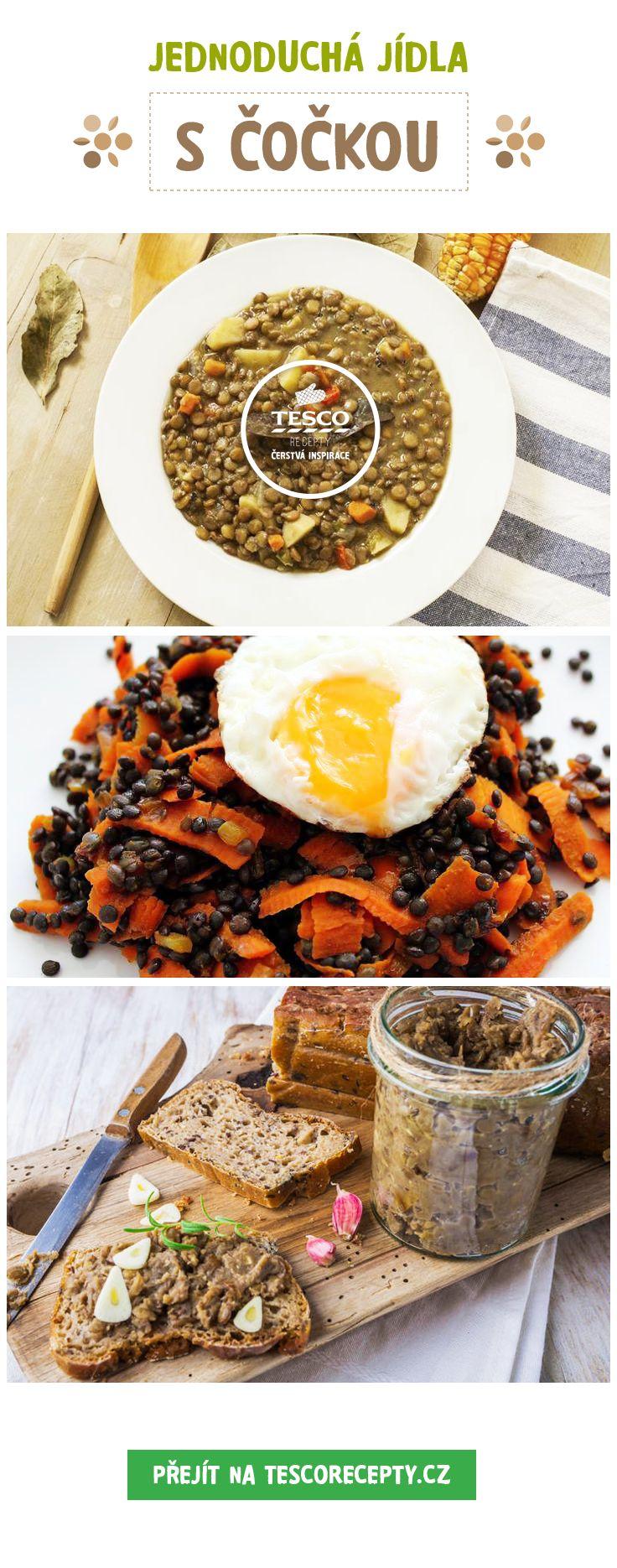 Připravte si jednoduchá a rychlá jídla s čočkou!