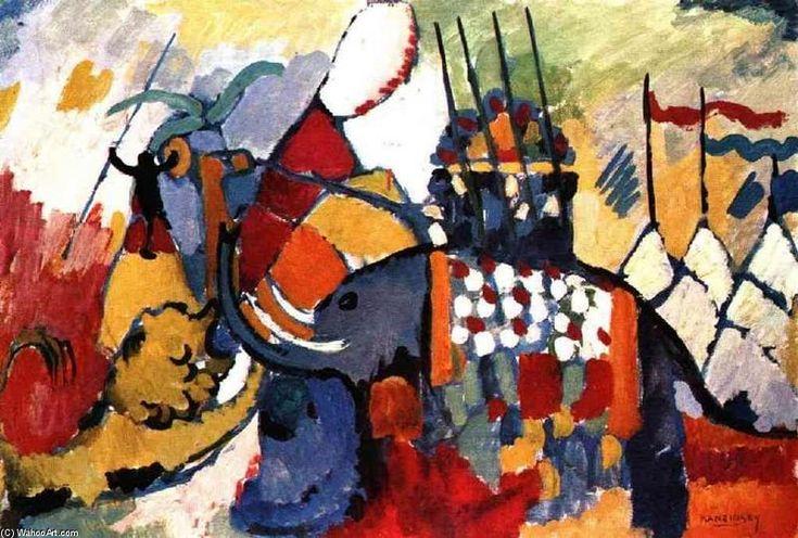 Kandinsky >> The Elephant