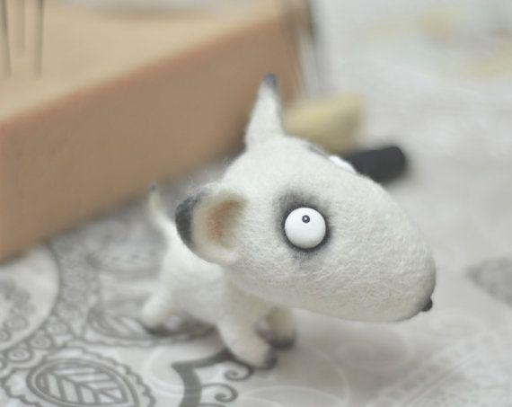 Toy  Felt doll  Needle felting  Handmade toys  Felt by VladaHom