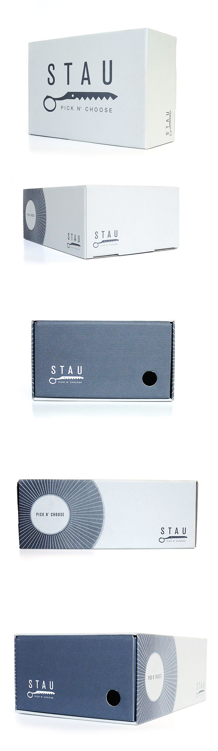 Scatola da scarpe Stau, un progetto #effADV - Stau shoe box, effADV project - #packaging #shoes #box