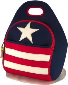 Dabbawalla Lunch Bag Stars & Stripes. Perfecta para llevar el refrigerio al colegio, la fruta a la oficina o incluso, los útiles de los extracurriculares. $60,000  Ordénala en: www.qipi.co