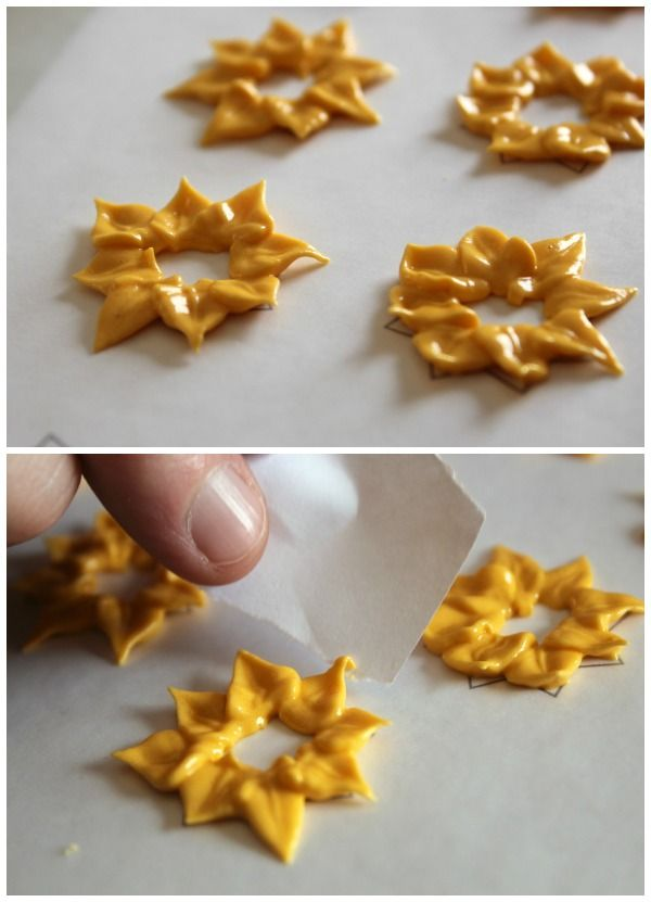 Royal Icing Sunflowers 2 | Cookies | Pinterest