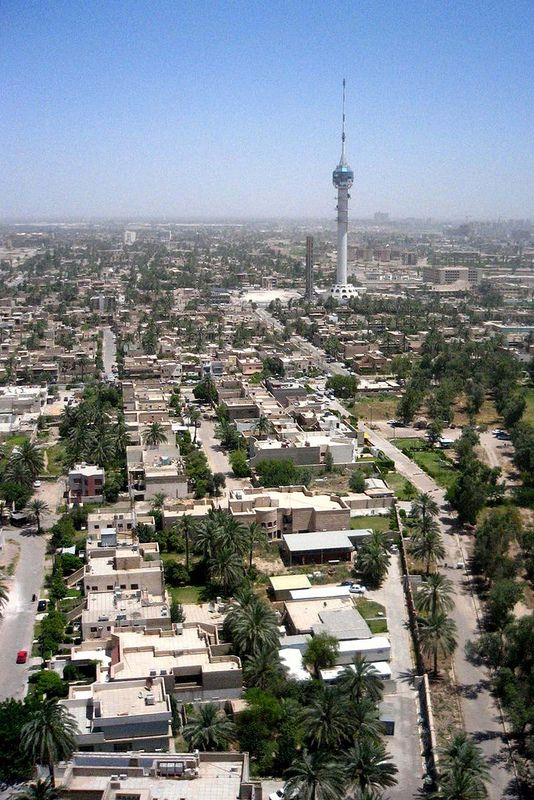 Baghdad- second largest city in Arab world with population ...
