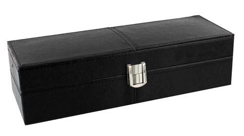 Cutie pentru sase ceasuri facuta din piele neagra colectia de cadouri pentru barbati de la Juliana.