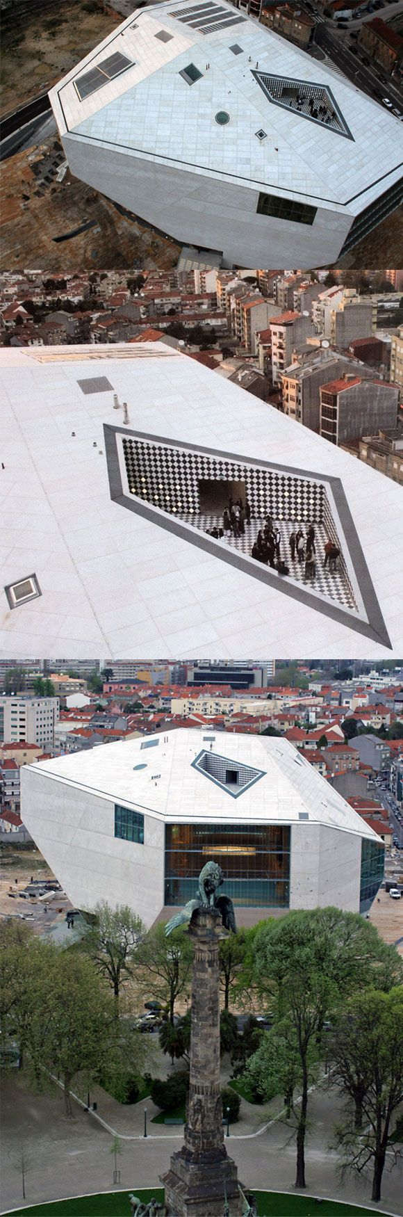 Casa da Música - House of the Music, Oporto #Portugal | Architects: ANC Architects, Jorge Carvalho, Teresa Novais