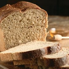 Barley Breakfast Bread. Moist, fairly dense, and sweetened with honey, this wholegrain loaf is wonderful for sandwiches.
