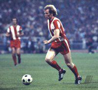 Uli Hoeness of Bayern Munich in 1973.