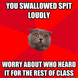 2d3b95254cb7d57085b472d4c0895cd3 chronic anxiety anxiety cat best 25 anxiety cat meme ideas on pinterest introvert cat