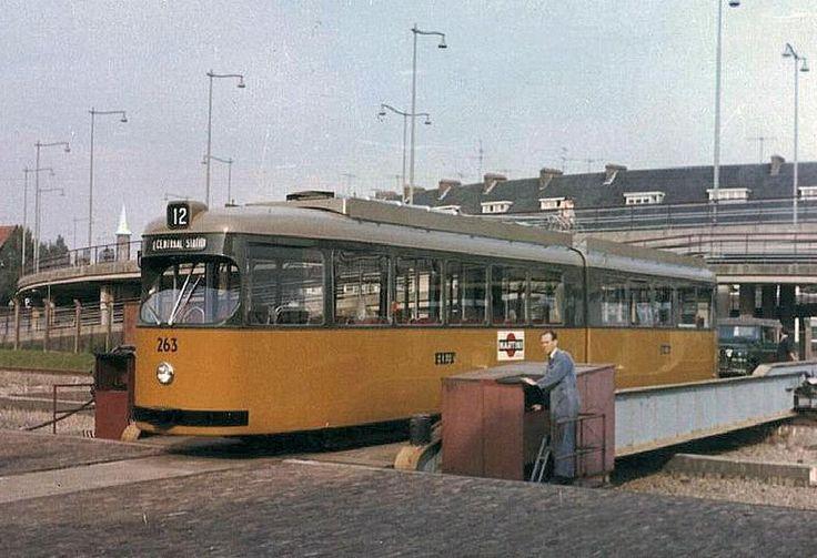 de tram, in 1965