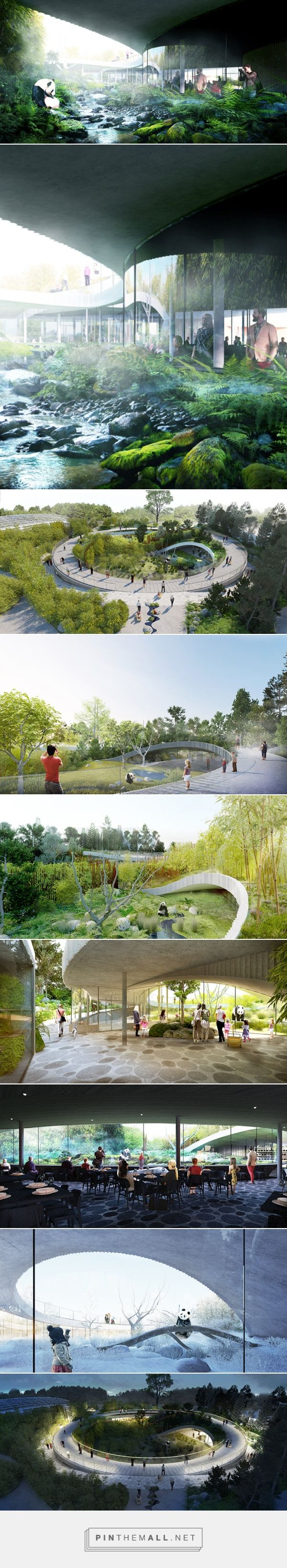 BIG plans yin and yang panda house for copenhagen zoo - created via https://pinthemall.net