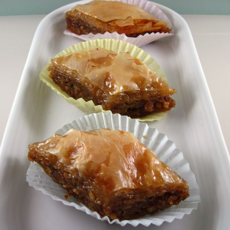 """By Kath Dedon  I used filo pastry sheets for the first time in my life yesterday, and I made Baklava! And it's the best Baklava that I've ever tried. A testimonial from Bob: """"I think that's t…"""