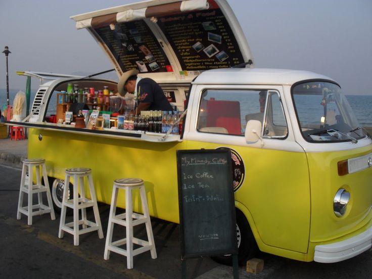 mobile cafe - see board:  http://pinterest.com/hashitani/street-food/