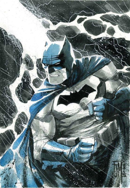 The Dark Knight Returns Batman by Francis Manapul