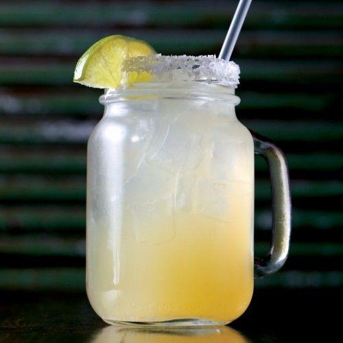 The Mason-jar margarita is always a crowd pleaser at Zionsville's Salty Cowboy
