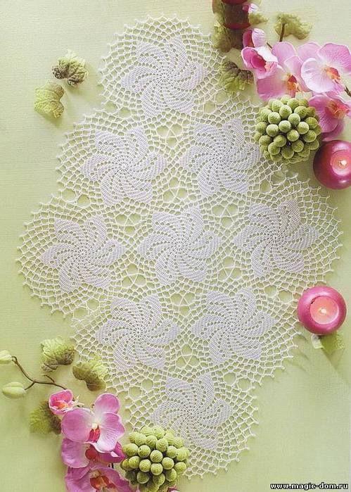 awesome Free Crochet Table Runner Patterns Check more at http://www.knitttingcrochet.com/free-crochet-table-runner-patterns.html