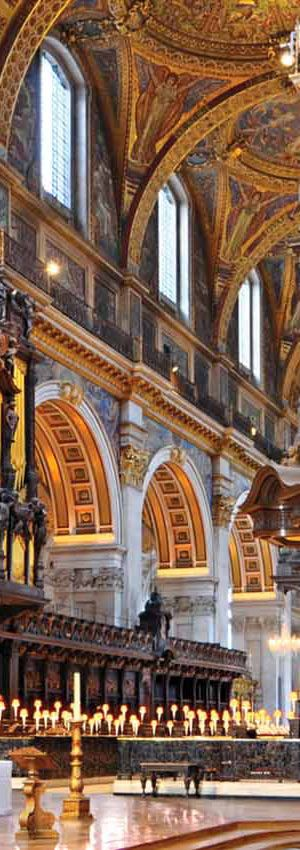 Interior de la Catedral de St. Paul