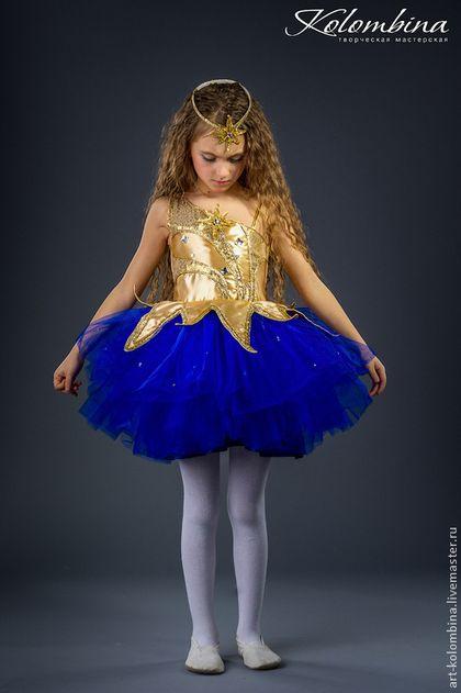 Детские карнавальные костюмы ручной работы. Заказать костюм звезды. Olga. Ярмарка Мастеров. Звезда, атлас
