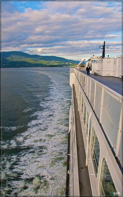 Ferry to Nanaimo,Vancouver Island,Canada