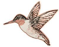 Handmade brooches created in hummingbird designs by Copper Reflections. Visit to see more of our handmade jewelry designs http://www.copperreflections.com/