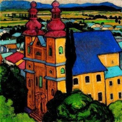Sandor Ziffer - Vue de Haut Tour Itsvan, 1908