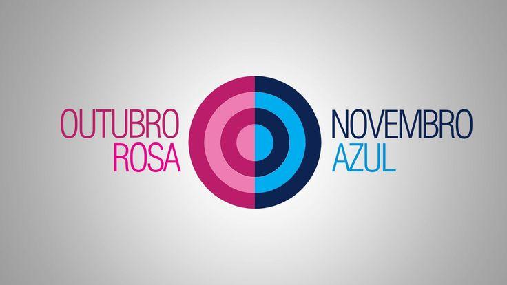 Outubro Rosa e Novembro Azul, campanha de conscientização e prevenção do cancer de mama e próstata